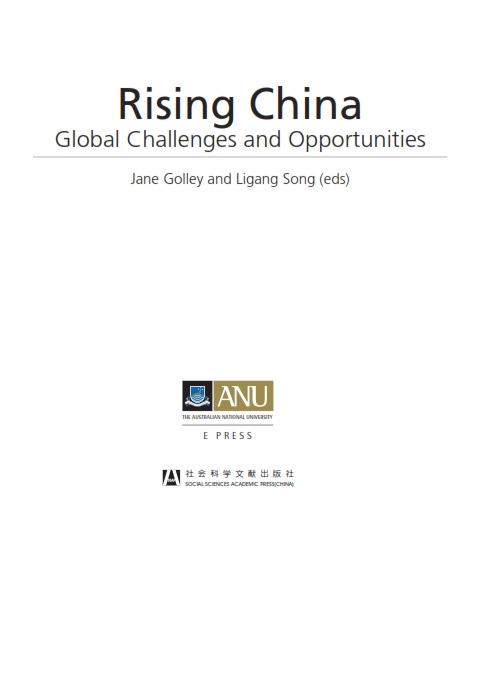 Rising China Global Challenges and Opportunities