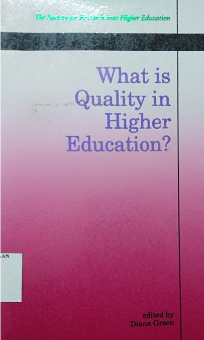 What is Quality in Higher Education?